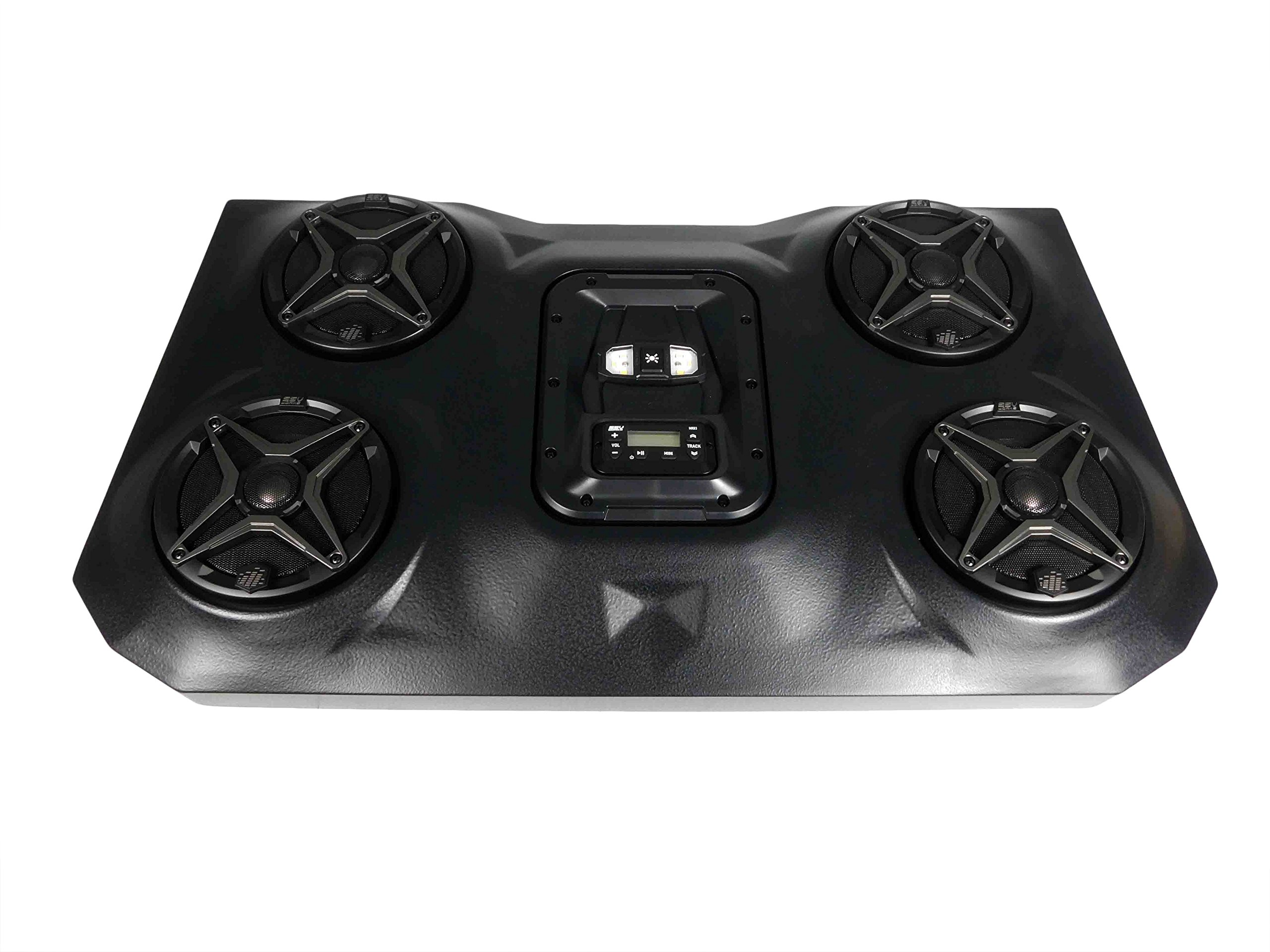 SSV Works WP3-RZ3O4A For a Two Seater Polaris RZR XP1000 & 900 Bluetooth Overhead Audio System