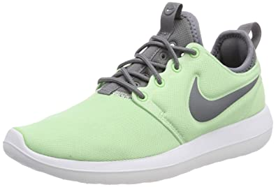 best sneakers 43f5d 442a9 Nike Women s Roshe Two Fresh Mint Cool Grey White Running Shoe 6 Women US