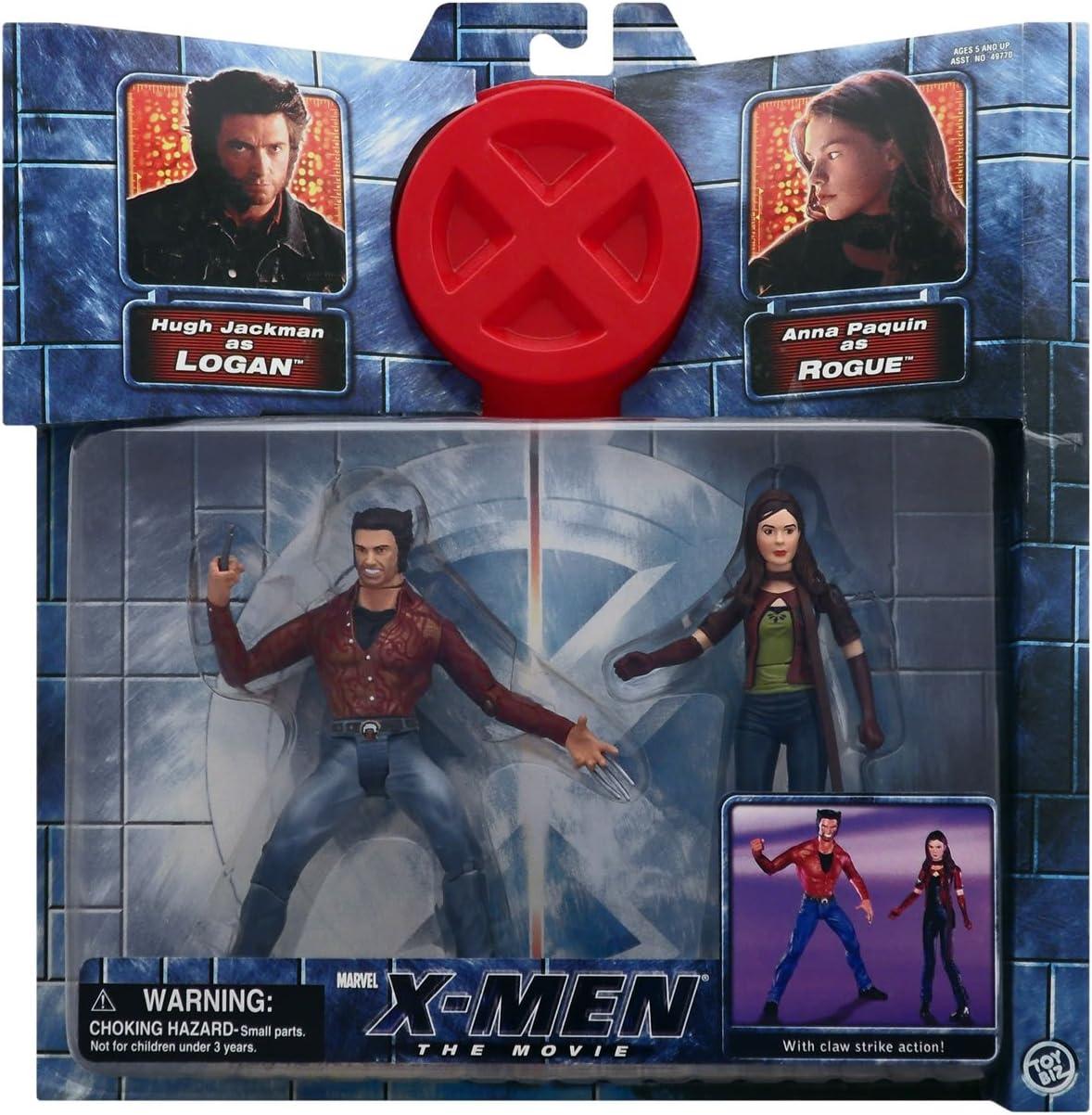 MARVEL X-MEN  ROGUE  ANNA PAQUIN MOC