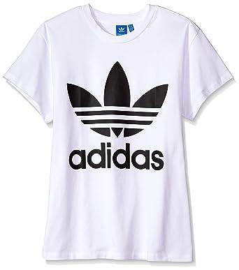 1037542b68f4 adidas Originals Women u0027s Big Logo Trefoil Tee at Amazon Women u0027s .