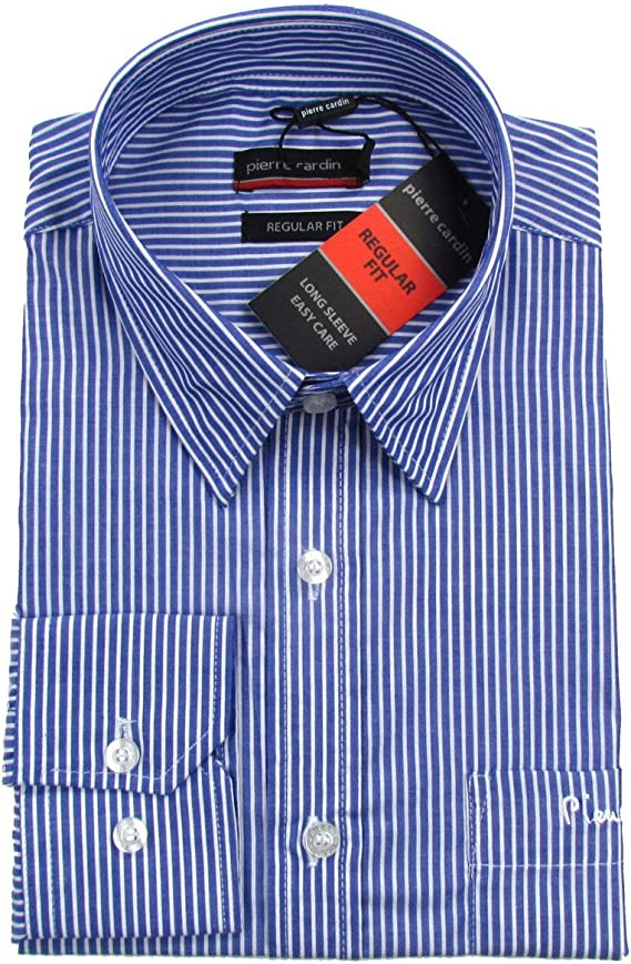 Pierre Cardin - Camisa formal - Rayas - Manga Larga - para hombre ...
