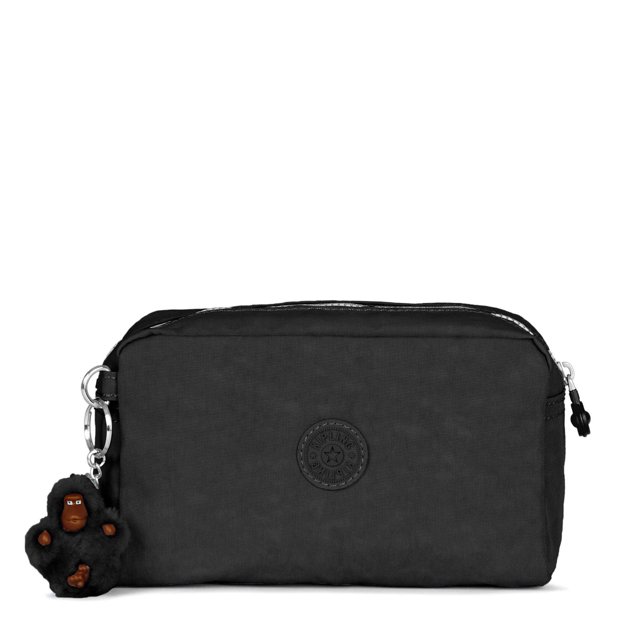 Kipling Gleam Cosmetic Bag, Black