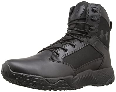 under armour police boots. under armour men\u0027s stellar tac, black/black/black, 8 d(m police boots n