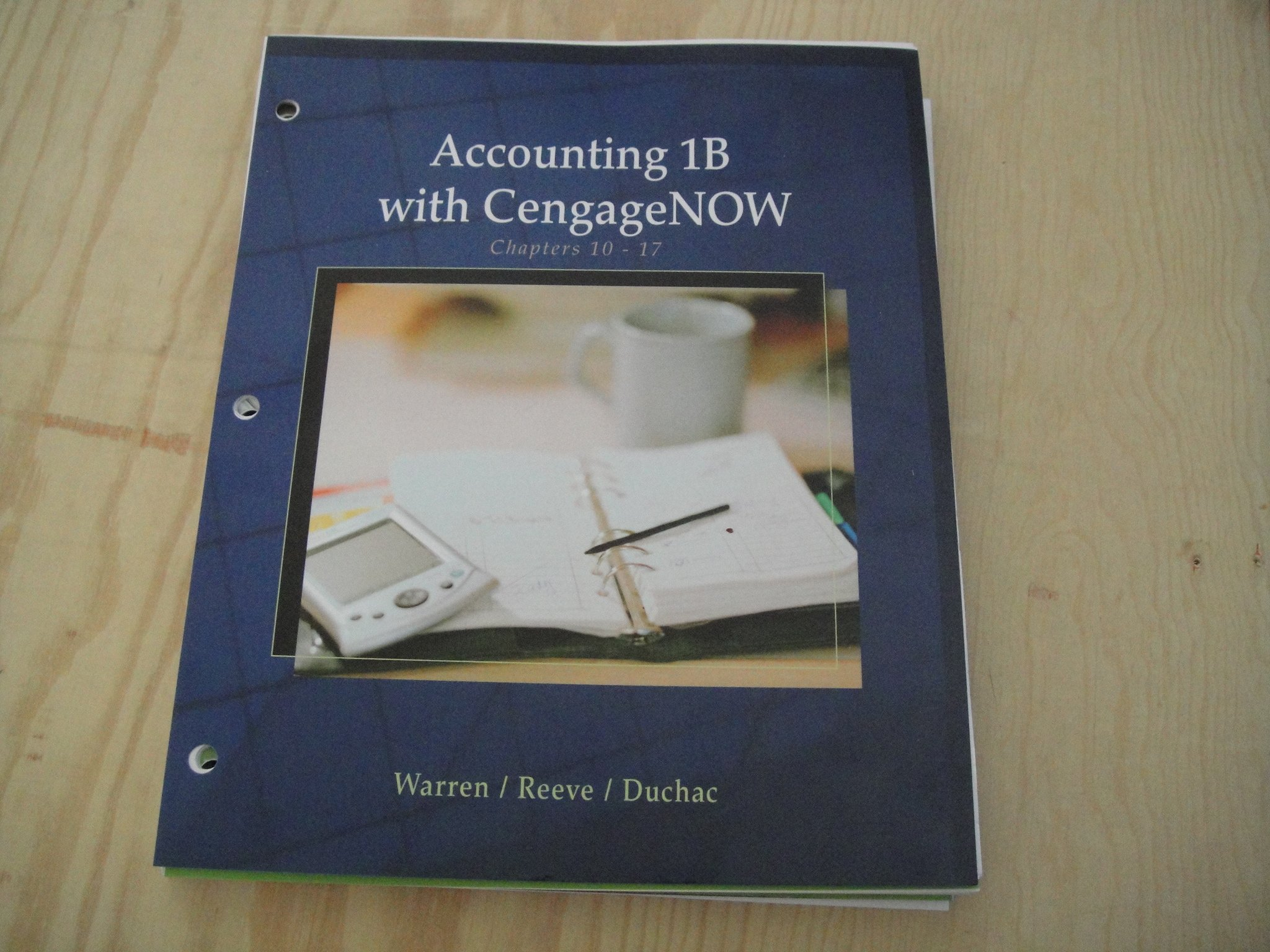 Read Online Accounting 1B with CengageNow pdf