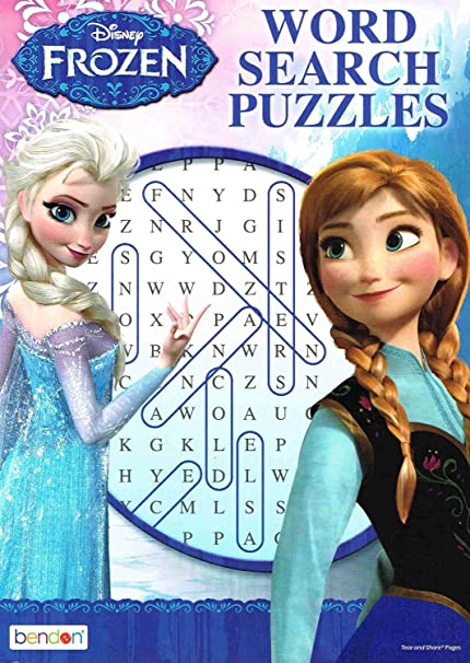 graphic relating to Frozen Word Searches known as Disney Frozen Phrase Glimpse Puzzles 1computer systems (Random)