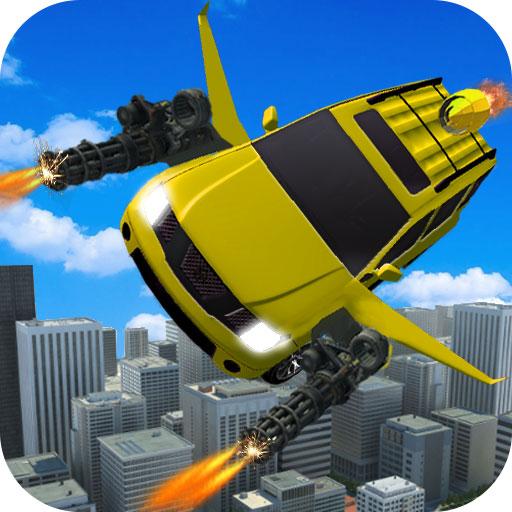 Flying Jeep Gunship Battle 3D Aircraft Combat