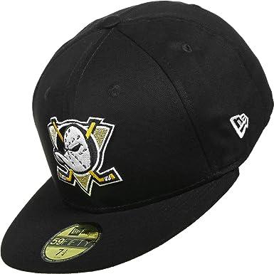 e108e37bc848fd New Era Mens Caps Fitted Cap Black Base Anaheim Mighty Ducks - Black - X-