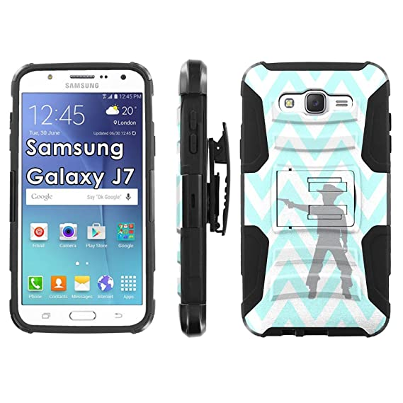 Amazon com: Samsung Galaxy J7 Phone Cover, Walking Dead