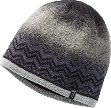 1aec3ebaa Jack Wolfskin Nordic Shadow Beanie: Amazon.co.uk: Sports & Outdoors