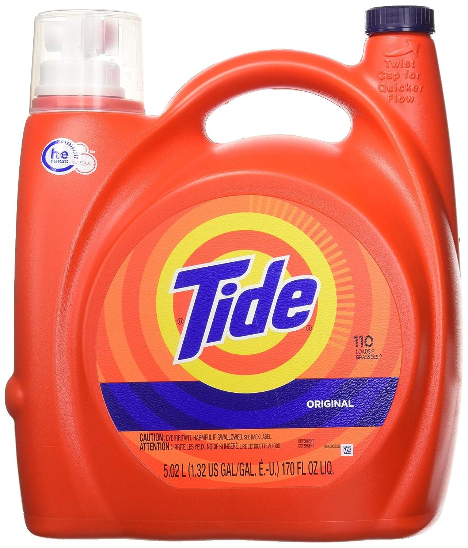 Tide 8317 High Efficiency Laundry Detergent, 170 Fl. Oz. by Tide B00PY9YZGC
