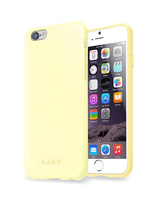 coque jaune pastel iphone xr