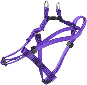 Majestic Pet 9in 15in Step In Dog Harness Purple, Sml 10 45 lbs Dog