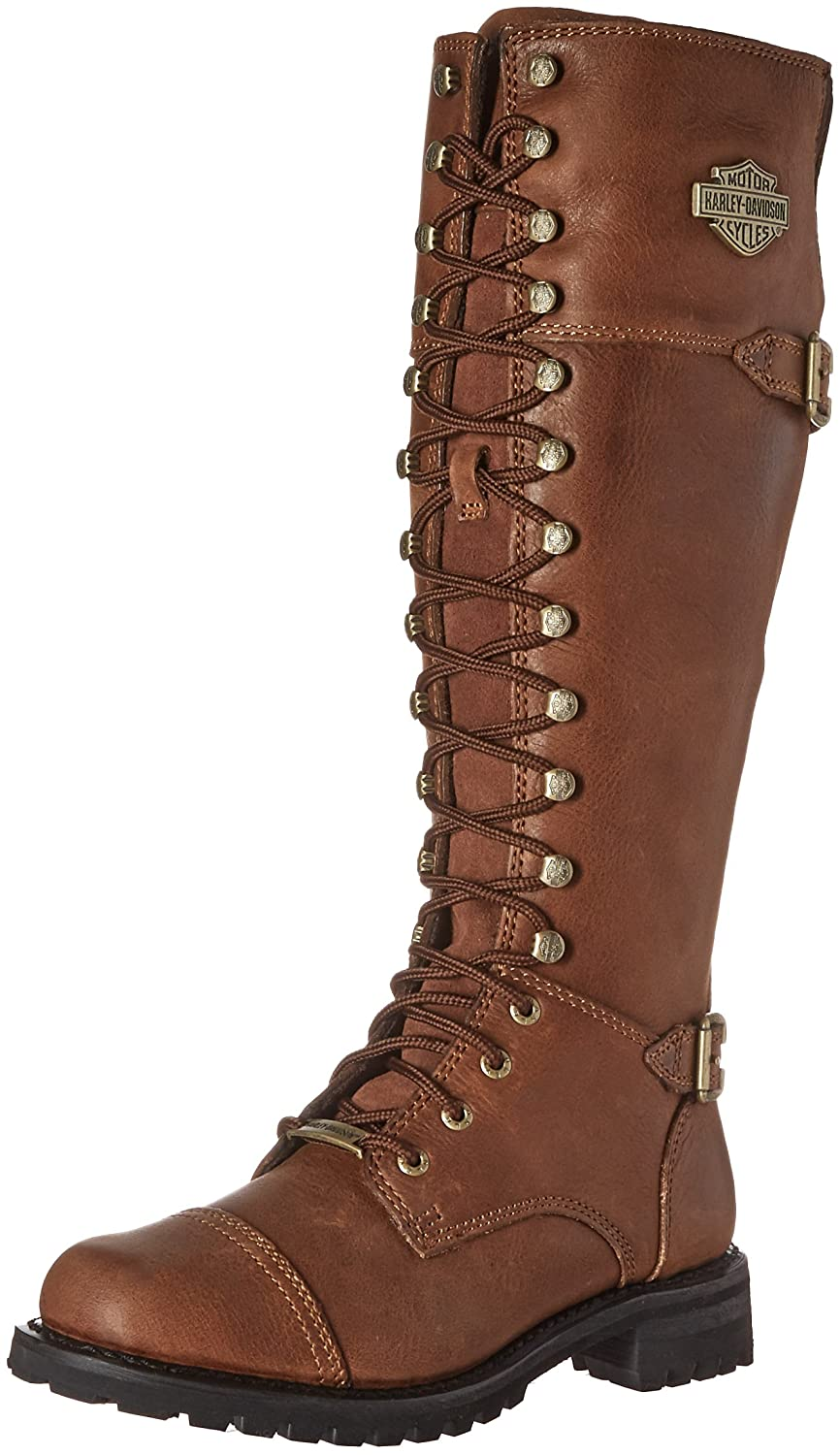 Harley-Davidson Women's Beechwood Work Boot B01B41XEYC 8 B(M) US|Brown