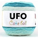 UFO Cake Ball ケーキボール グラデーションマルチカラー アクリル ウール 毛糸 200g, 350m グラデーションマルチカラー col.13