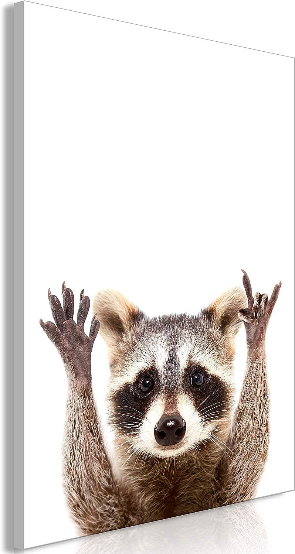 murando Quadro Animale 20x30 cm 1 Pezzo Stampa su Tela in TNT XXL Immagini Moderni Murale Fotografia Grafica Decorazione da Parete Cane Carlino g-B-0098-b-a