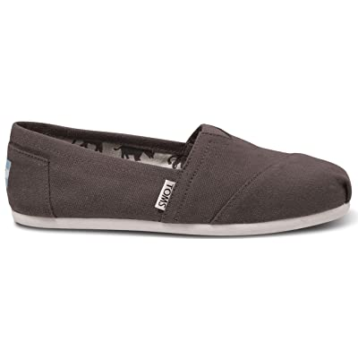TOMS Women's Classic Canvas Slip On Ash 7 B(M) US | Loafers & Slip-Ons