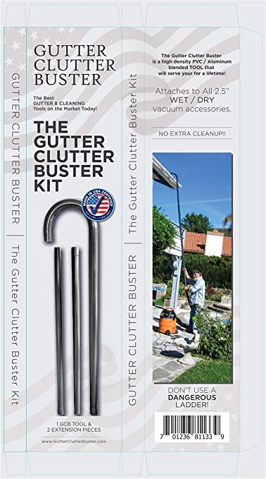 Amazon Com Gutter Clutter Buster Kit Garden Outdoor