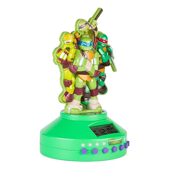 Teenage Mutant Ninja Turtles 52365-TRU Alarm Clock Radio (52365)