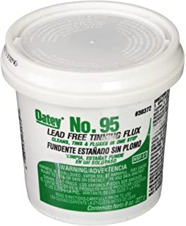 Oatey 30372 No. 95 Tinning Flux, Lead Free 8-Ounce