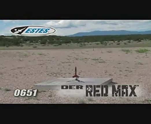 Amazon.com: Estes 0651 der Rojo Max Flying Model Rocket Kit ...