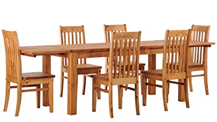 Tavoli Da Pranzo Classici : Brasilmöbel tavolo da pranzo classico con piastre e sedie rio