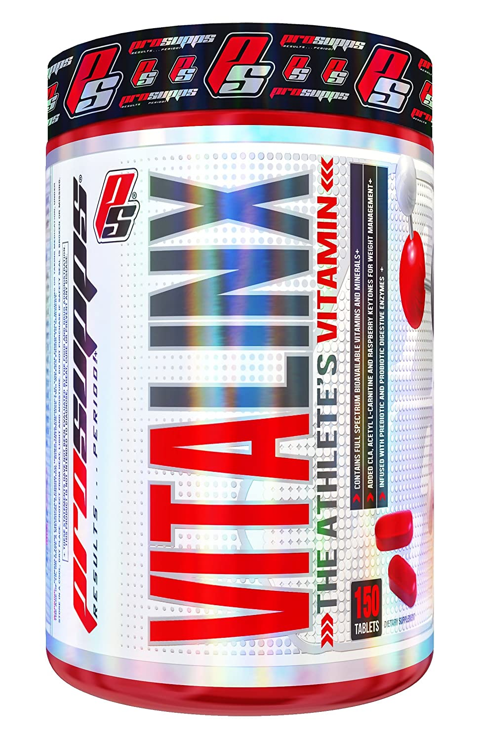 PRO SUPPS Vitalinx The Athlete s Vitamin with Full Spectrum of Bioavailable Vitamins and Minerals, 150 Count