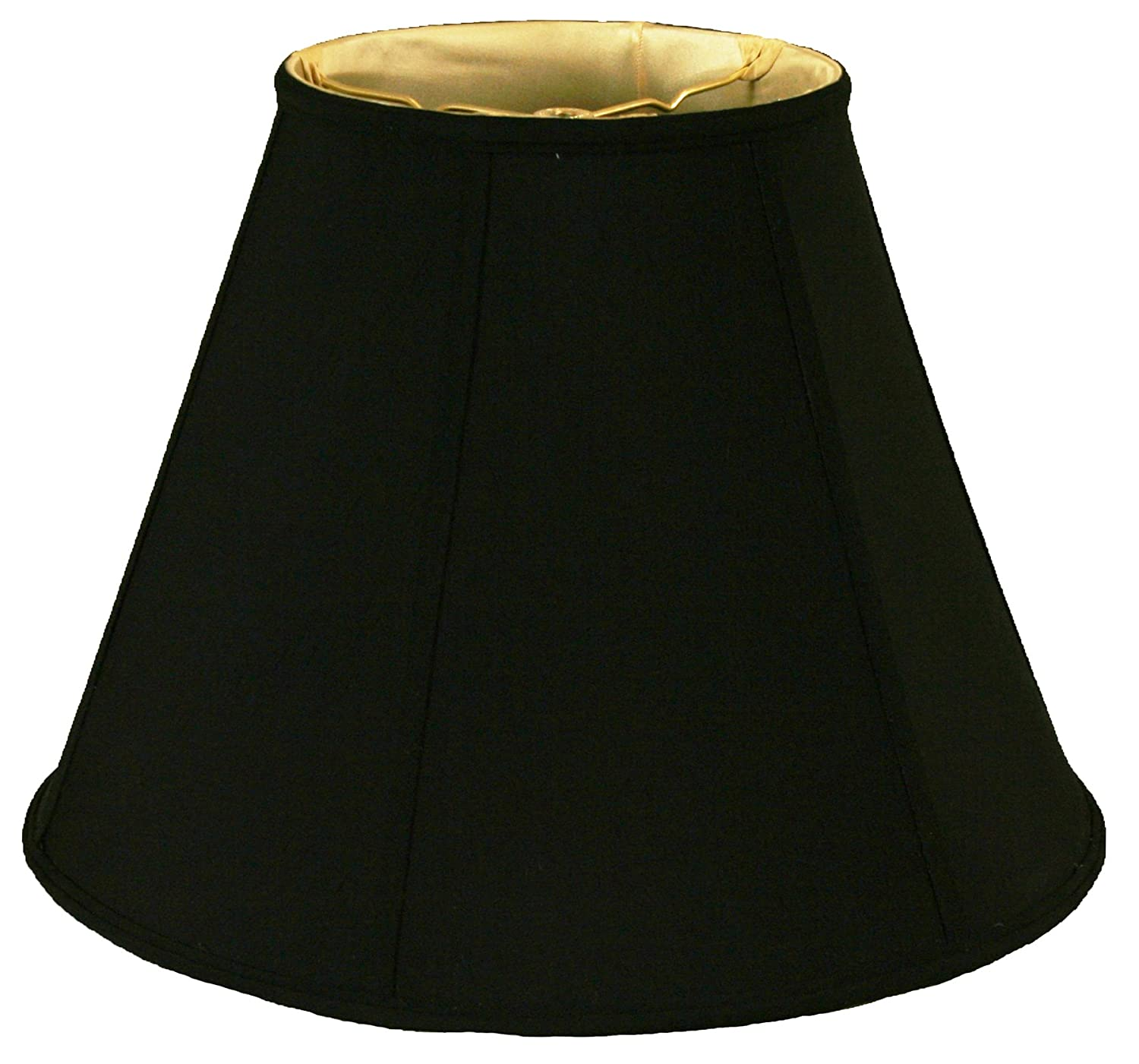 Black Royal Designs DBS-707-16LNBG 9 x 16 x 12.25 Deep Empire Lamp Shade, Linen Beige