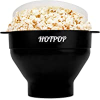 The Original Hotpop Microwave Popcorn Popper, Silicone Popcorn Maker, Collapsible Bowl Bpa Free and Dishwasher Safe - 17…