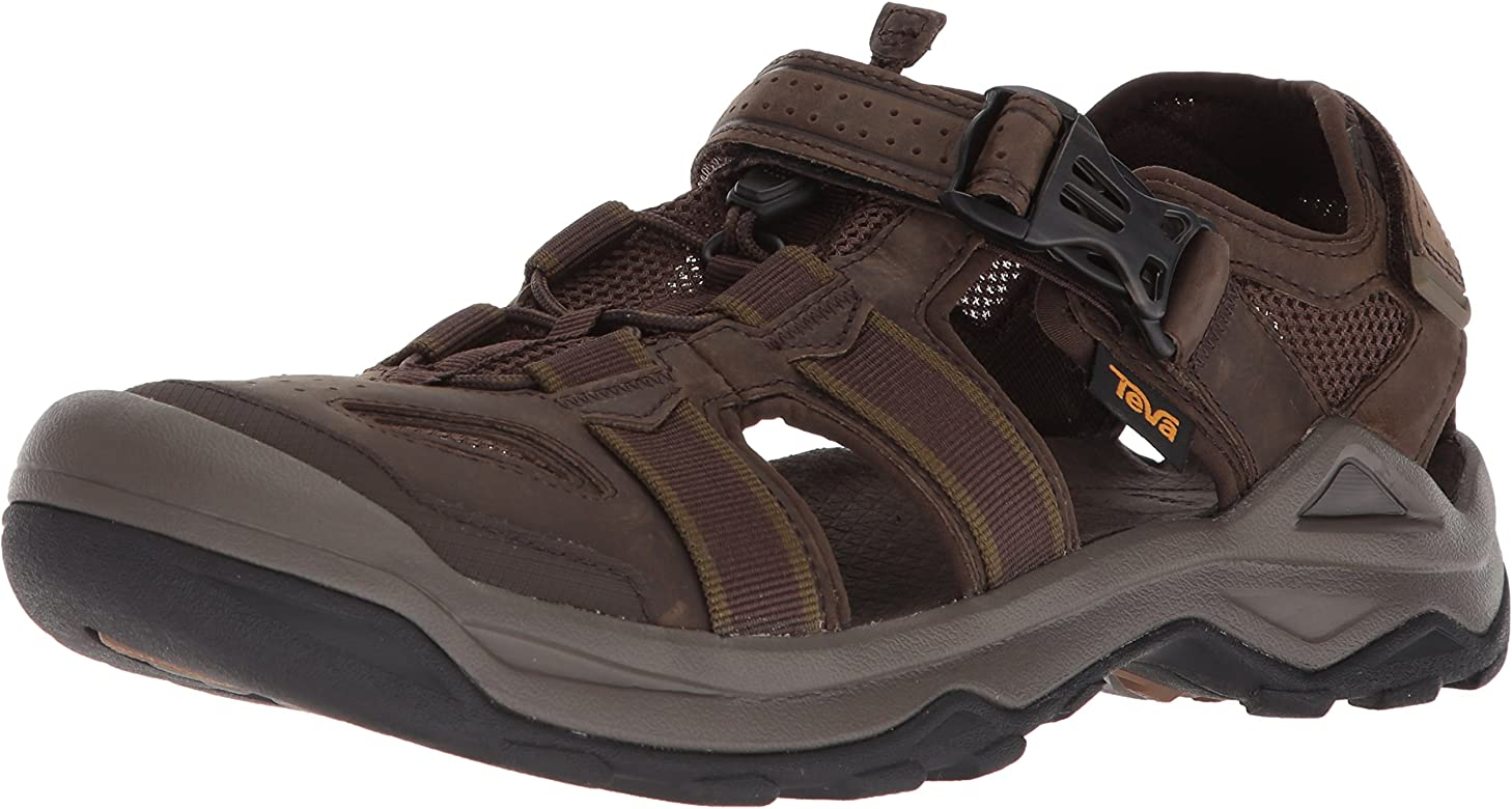0b204a95fc35 Amazon.com  Teva Men s M Omnium 2 Leather Fisherman Sandal
