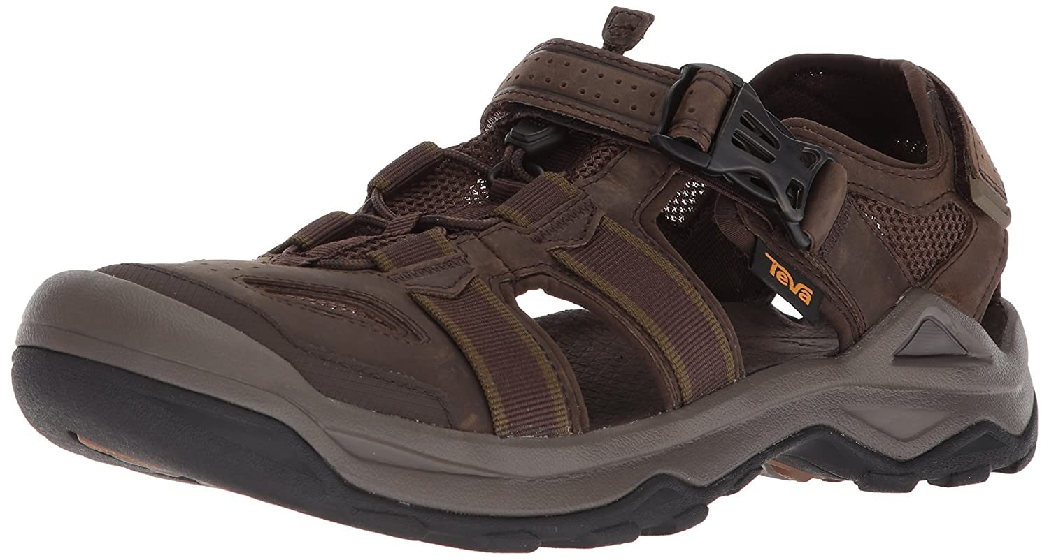 Teva Mens M Omnium 2 Leather Fisherman Sandal 1019179