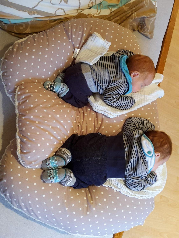 Cojín para gemelos, cojín de lactancia, cojín de relleno ...