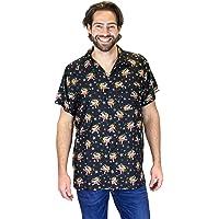OH Original King Kameha | Funky Hawaiian Shirt | Men | XS - 6XL | Short Sleeve | Hawaii Print | Christmas X-Mas Santas | Various Designs