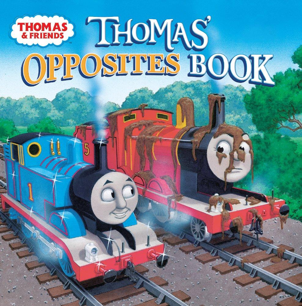 Download Thomas' Opposites Book (Turtleback School & Library Binding Edition) (Thomas & Friends) PDF