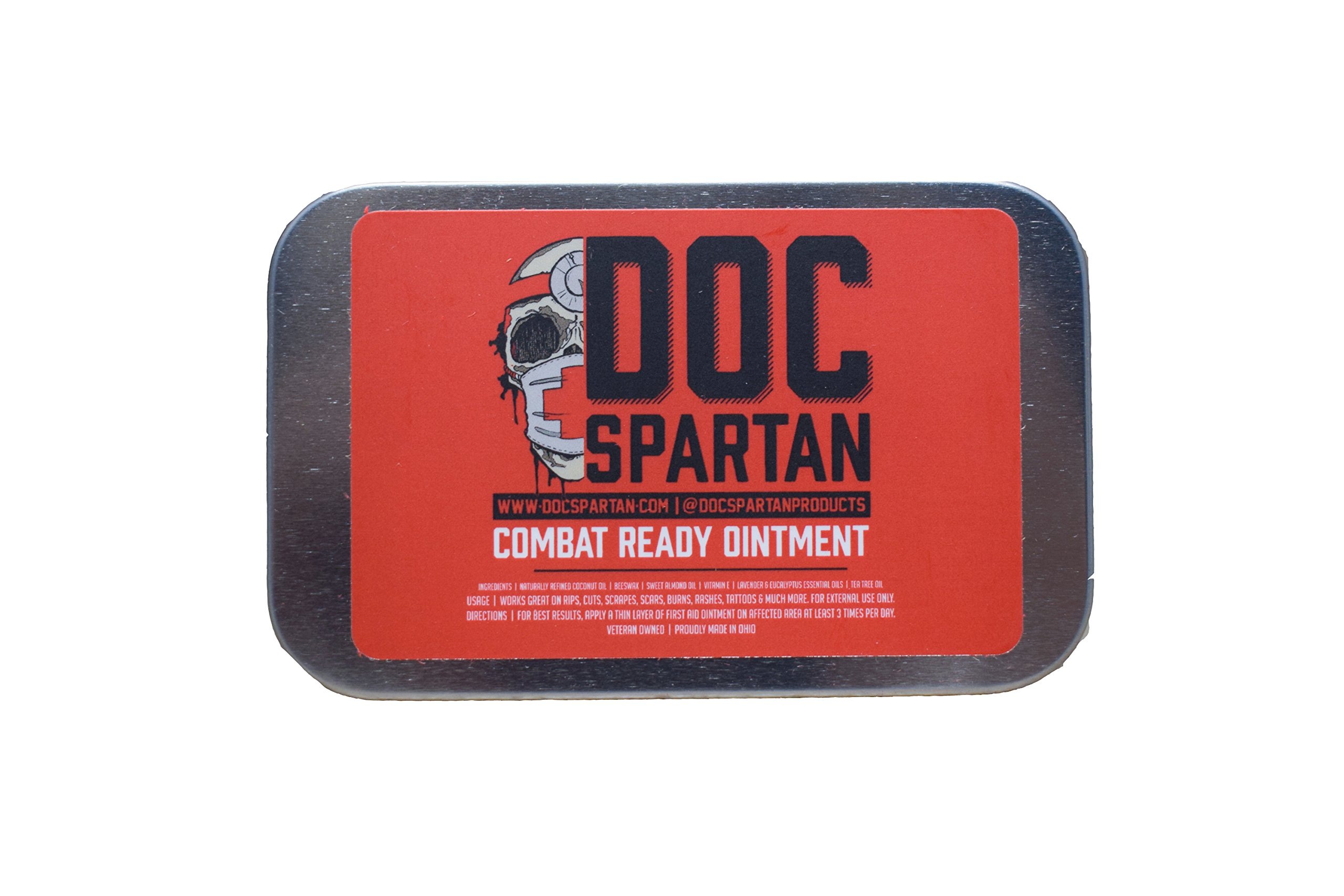 Doc Spartan Combat Ready Ointment As Seen On Shark Tank ... (Big Tin) by Doc Spartan