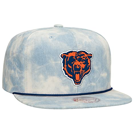 ... new zealand chicago bears mitchell ness nfl quotlite denimquot  adjustable snap back hat 3b6bd 37080 a4588313b349