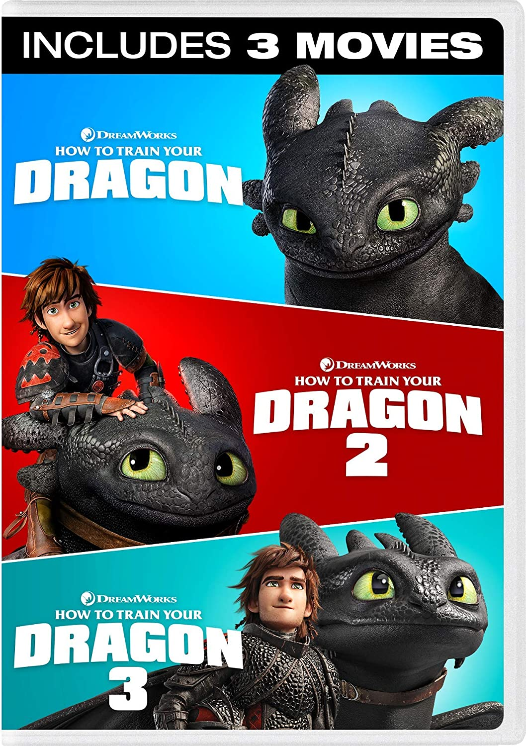 Amazon com: How to Train Your Dragon - 3 Movie Collection