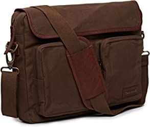 ef46f2034 Royal Enfield BGSS18002 Canvas/Leather Flying Flea Messenger Bag (Brown,  Medium)