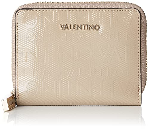 Mario Valentino VPS2C2162 - Porte-monnaie de Poliuretano Mujer, color Beige, talla 2.0