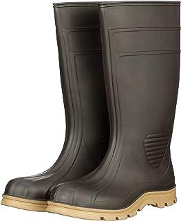product image for Heartland Footwear Barnyard Tuff Plain Toe Rubber Work Boot