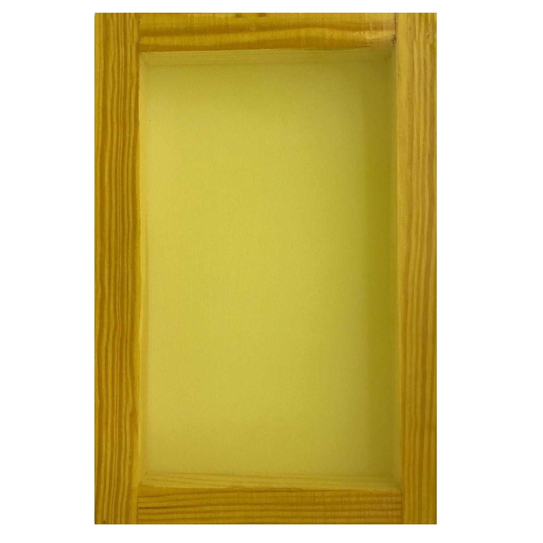 12x16 mesh White or Yellow, SILK SCREEN FRAME for SCREEN PRINTING 140 mesh