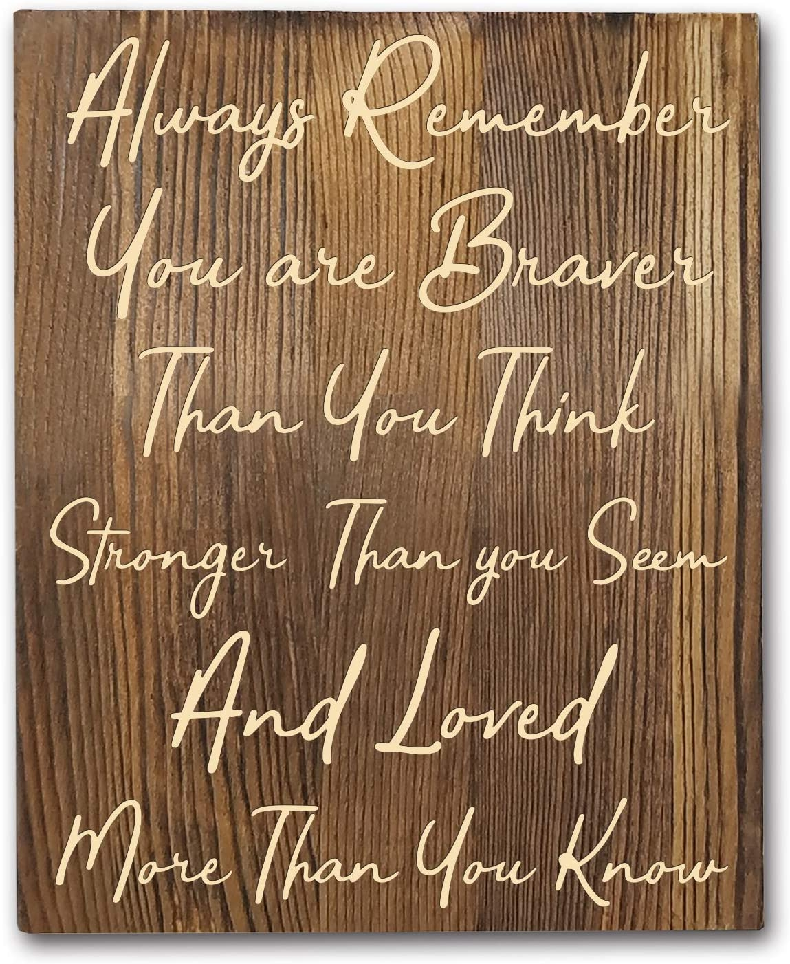 Winnie The Pooh Quotes Rustic Wood Wall Art Decor- 8