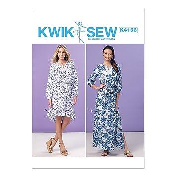 Kwik Sew Mustern k4156os Schnittmuster Kleider und Band, Größen XS ...