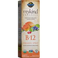 Garden of Life B12 Vitamin - mykind Organic Whole Food B-12 for Metabolism and Energy...