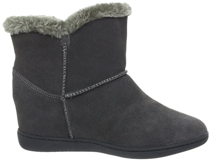 brand new 233a4 fb367 Skechers Women s Plus 3-Cozy Up Boot, Charcoal, 9 M US  Buy Online at Low  Prices in India - Amazon.in