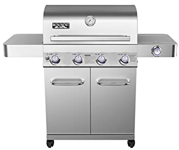 MONUMENT GRILLS 810sq. in 4-Burner Gas Grill