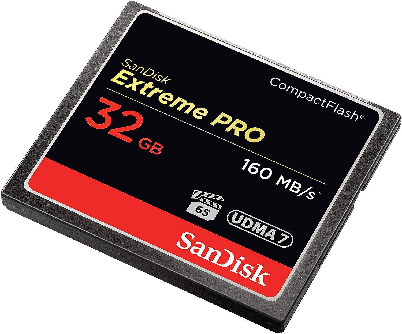 Sandisk Extreme Pro Compactflash 32gb Speicherkarte Computer Zubehör
