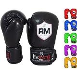 Kids Boxing Gloves Martial Arts Kickboxing Junior Children Mitts Punch Bag RingMaster UK