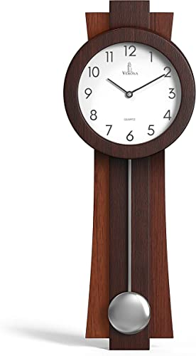 Pendulum Wall Clock Battery Operated