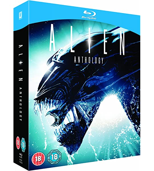 Alien Quadrilogy BD [Reino Unido] [Blu-ray]: Amazon.es: Alien Anthology: Cine y Series TV