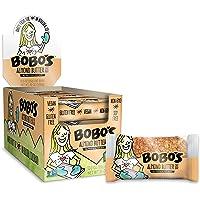 Bobo's Oat Bars (Almond Butter, 12 Pack of 3 oz Bars) Gluten Free Whole Grain Rolled Oat Bars - Great Tasting Vegan On-The-Go Snack, Made in the USA